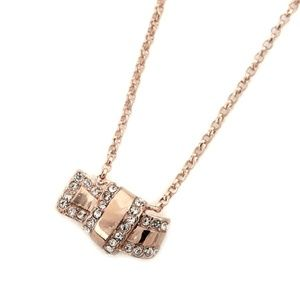 Kate Spade rose-gold necklace All Tied up NEW!